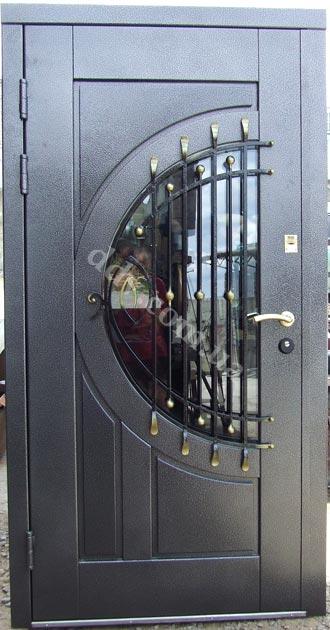 входные двери металло-филенчатые