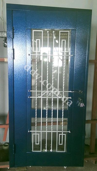 Порошковая покраска двери Премьер