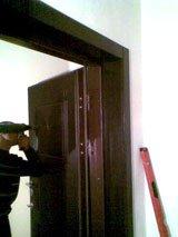 Качественная обшивка дверного проёма