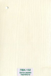 ПВХ-132 Белое дерево перламутр